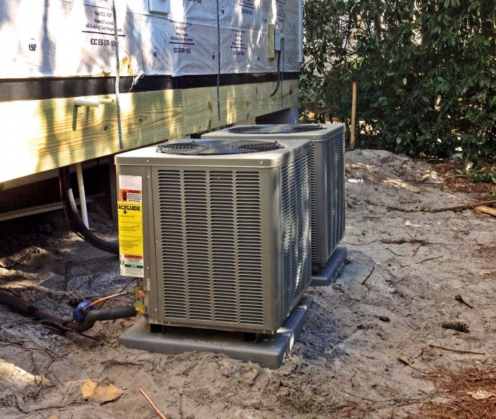 Construction Air Conditioner : Hvac installation for new construction fort walton beach